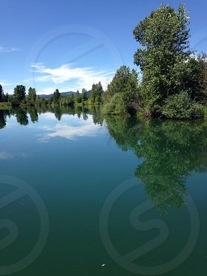 Glass river photo