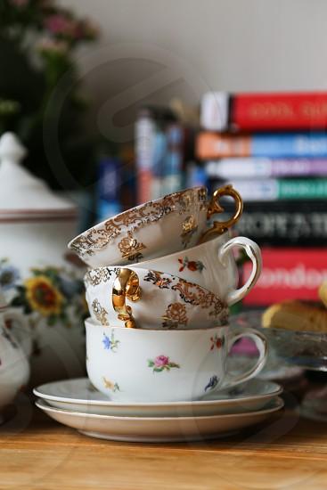 Breakfast or teatime set photo