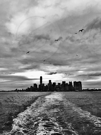 New York Staten Island ferry photo
