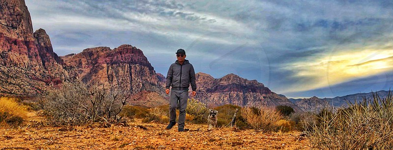 Hiking and exploring Red Rock National Conservation.  photo