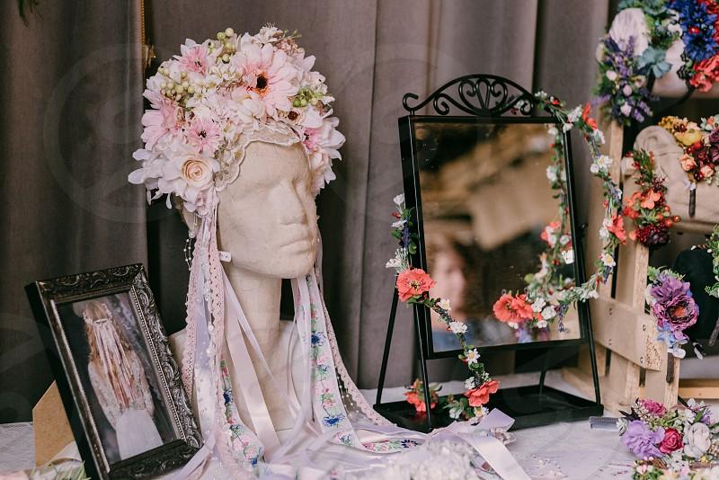 Romantic fashion accessories. photo