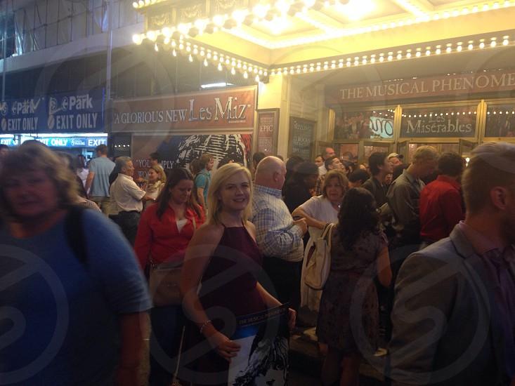 Les mis on Broadway  photo
