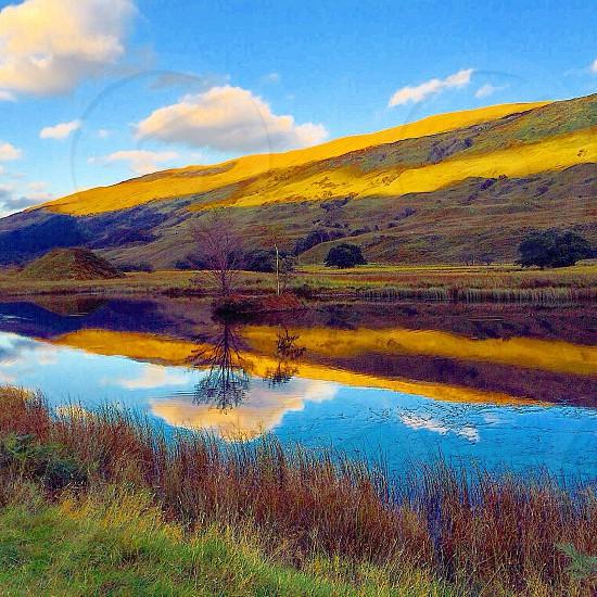 Fish pond. Glenstrae Scotland  photo
