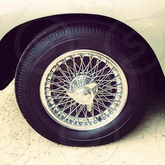 Aston Martin DB5 car wheel photo