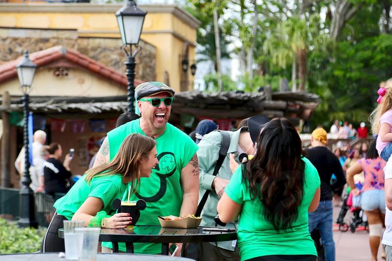 Celebrating St Patrick's Day photo