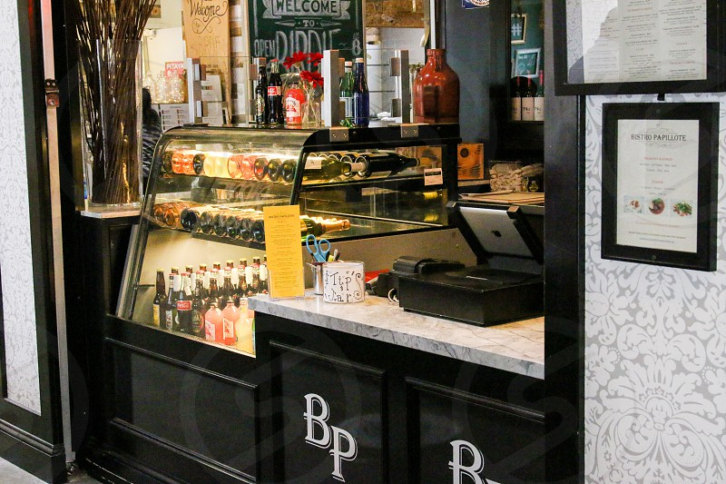 Counter at Bistro Papillote photo