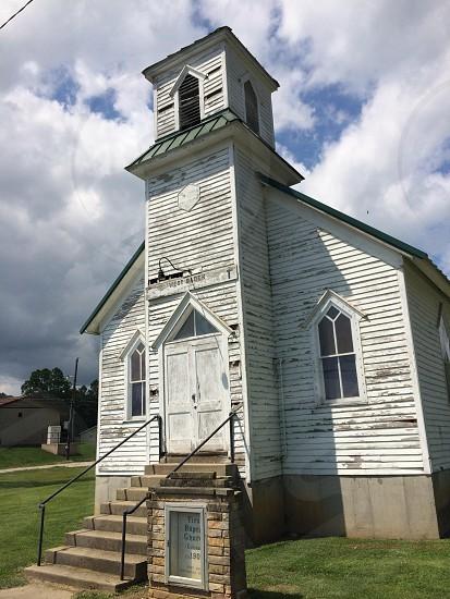 Old rural church.  photo