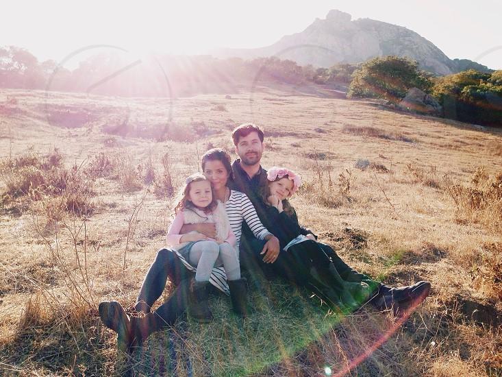 Family hike photo