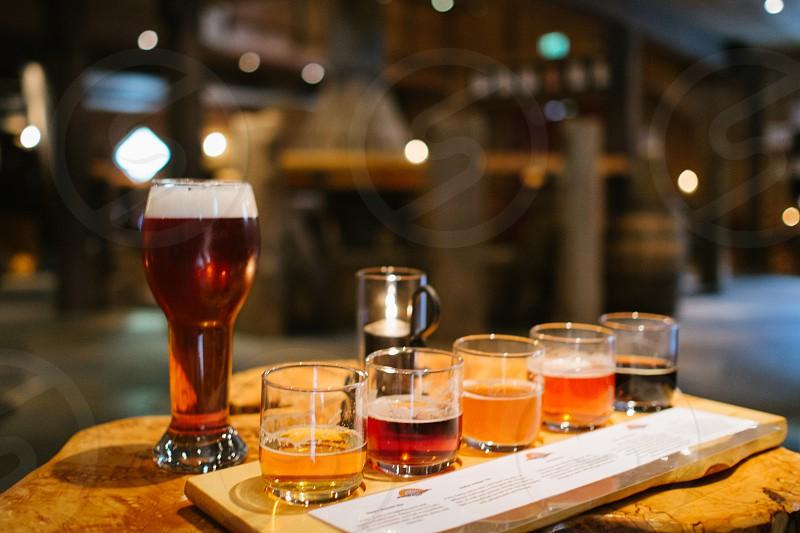 beer samples photo