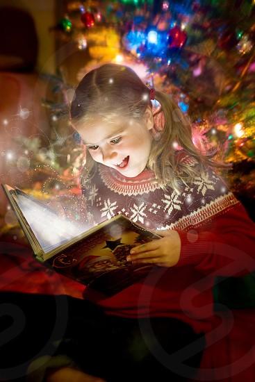 Magic Christmas book photo