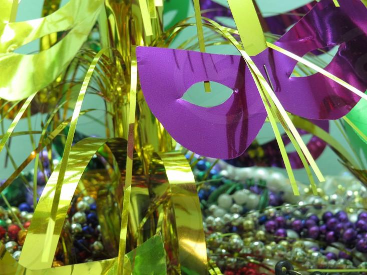 Add a descriptive caption or keywords Mardi Gras  party celebrate photo