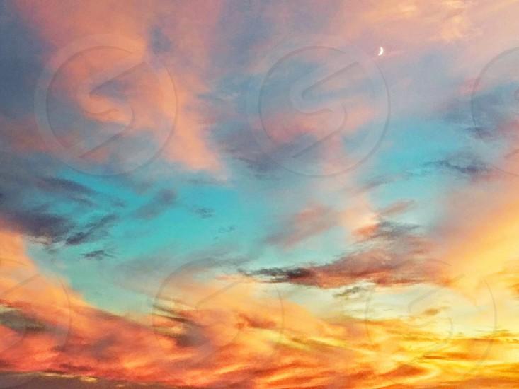 colorfull sky photo
