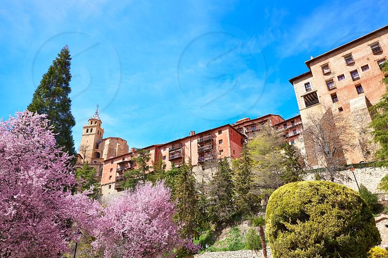Albarracin medieval town in Teruel world heritage at Spain photo