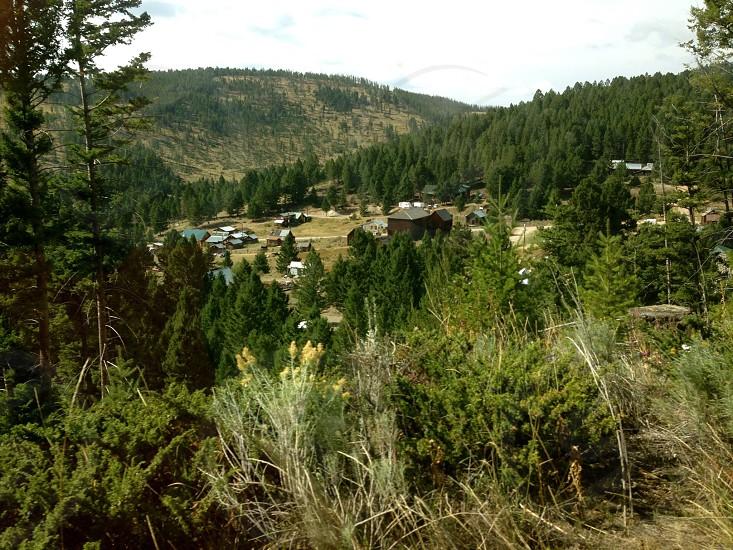 Ghost Town Montana photo