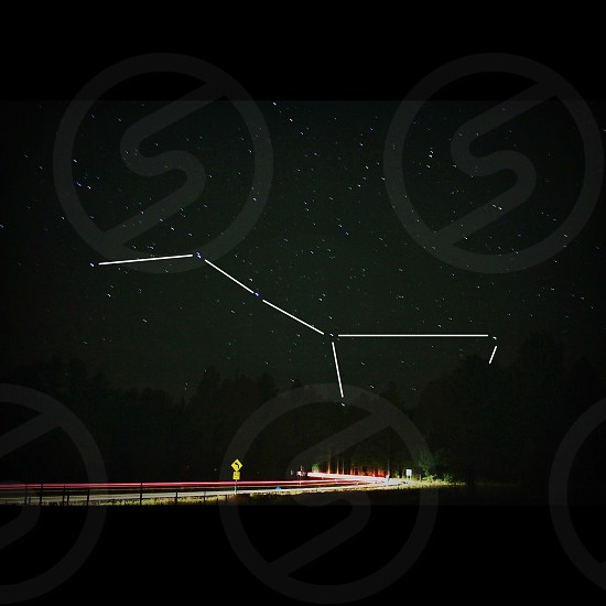 Big Dipper setting photo