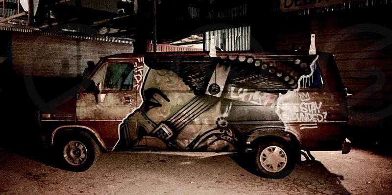 Art sponsored by Spratx in Austin Texas photo