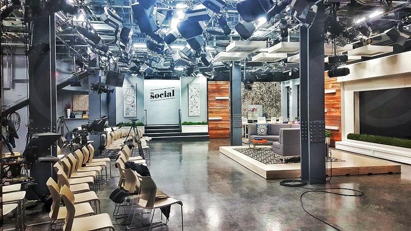 #TheSocial #Set #TVShow #Toronto #downtown photo
