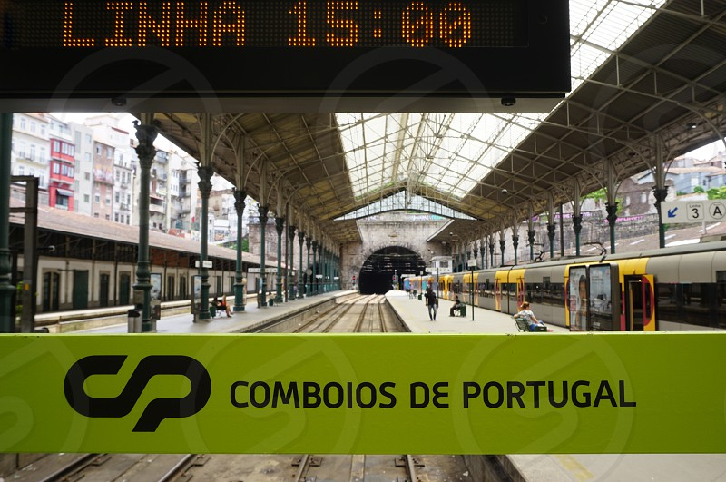 São Bento railway station - Porto Portugal photo