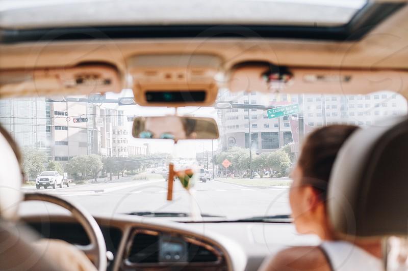 Ride share car Uber  photo