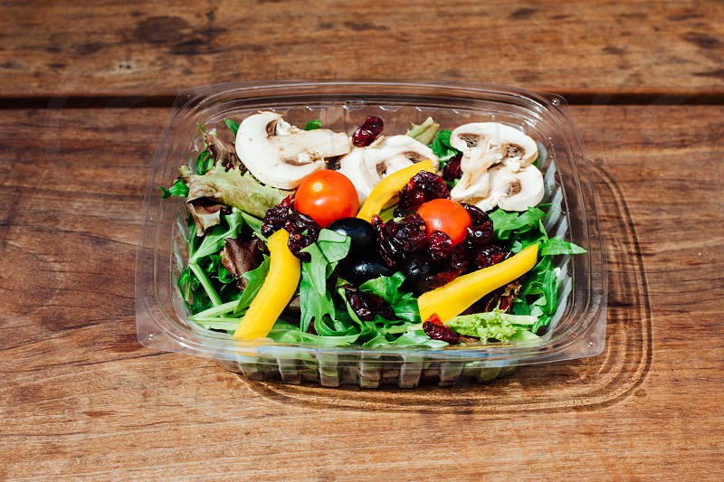 Escape From New York Pizza - Spring Salad Mix photo
