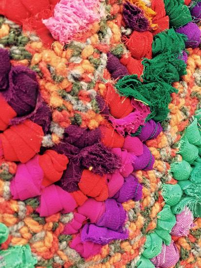 Colorful textiles photo