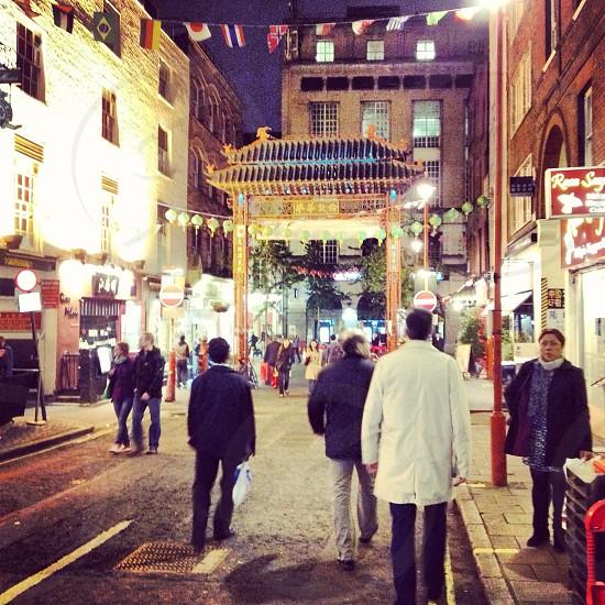Chinatown London photo