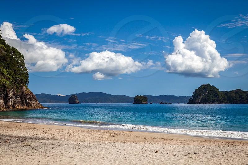 Beach near Hahei photo