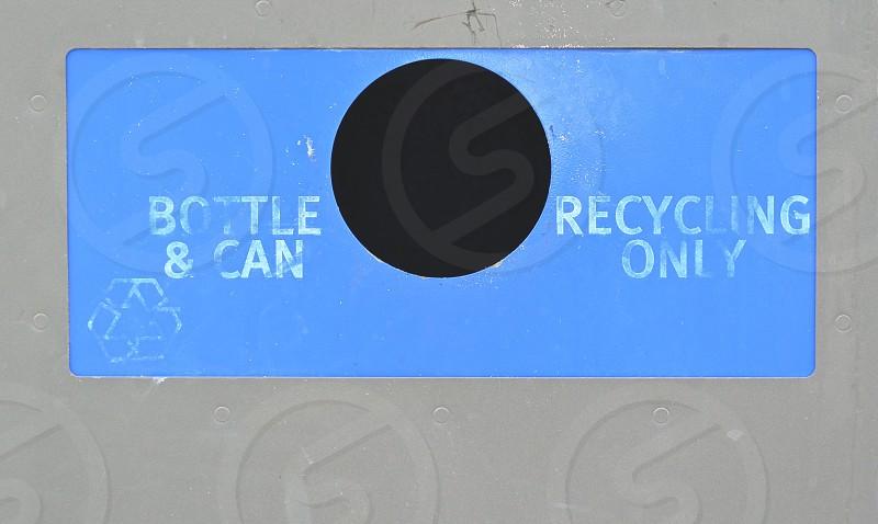 Trash Recycle  photo