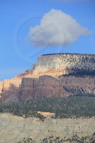 Mesa cloud portrait photo