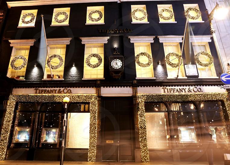 Xmas at Tiffany & Co London. photo