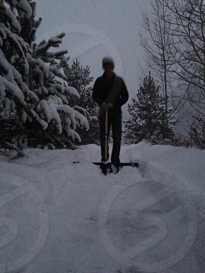 Just keep shoveling... photo