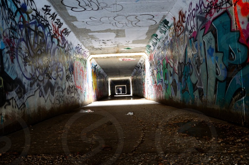 Underground art scene  photo
