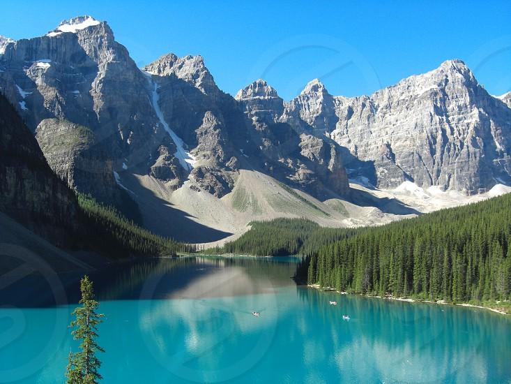 Lake Moraine Canada photo