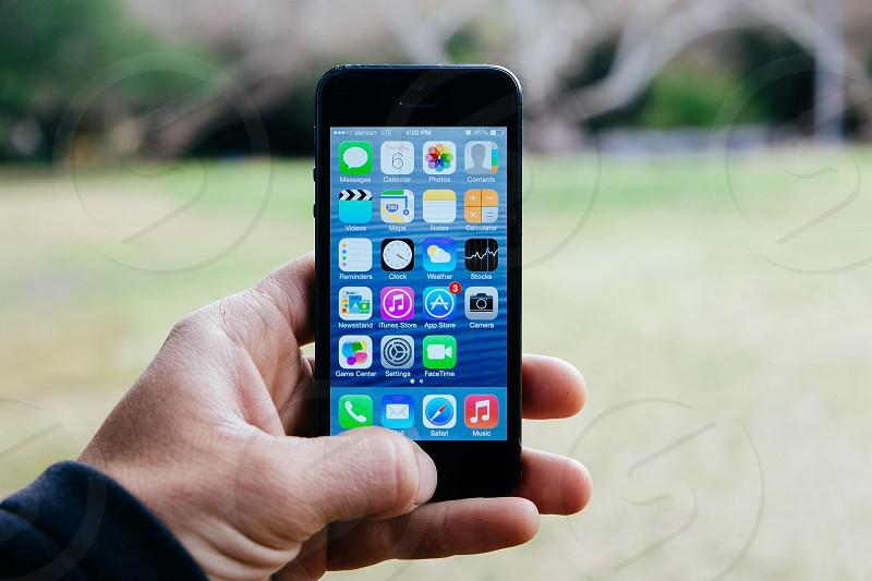 smart phone black photo