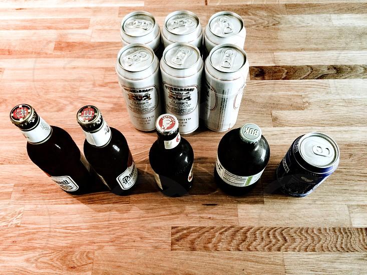 Assortment of beers  photo