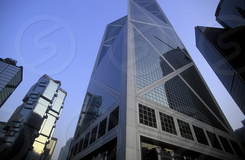 The City Centre of Hong Kong in the south of China in Asia. photo