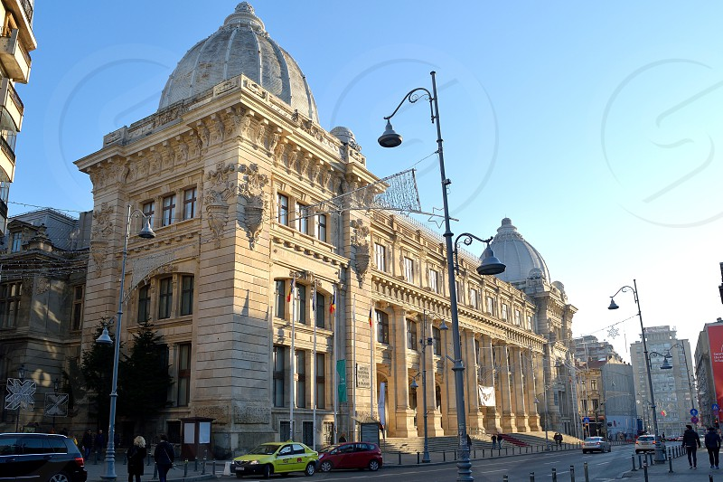 National Museum of Romanian History in Bucharest - perspective  photo