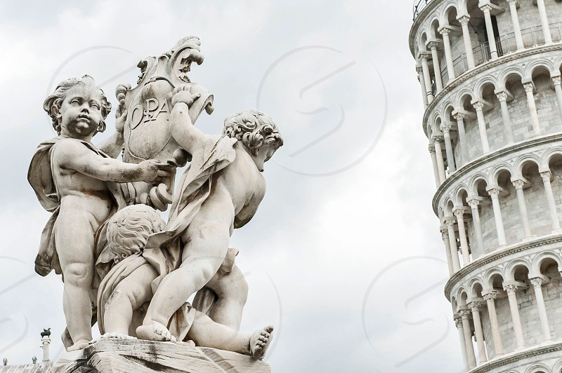 Leaning tower of Pisa Italy #statue #pisa #italy #travel #architecture #monument photo