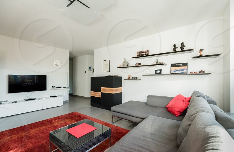 Living room of an apartment photo