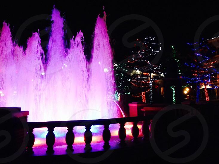 Pretty fountain photo