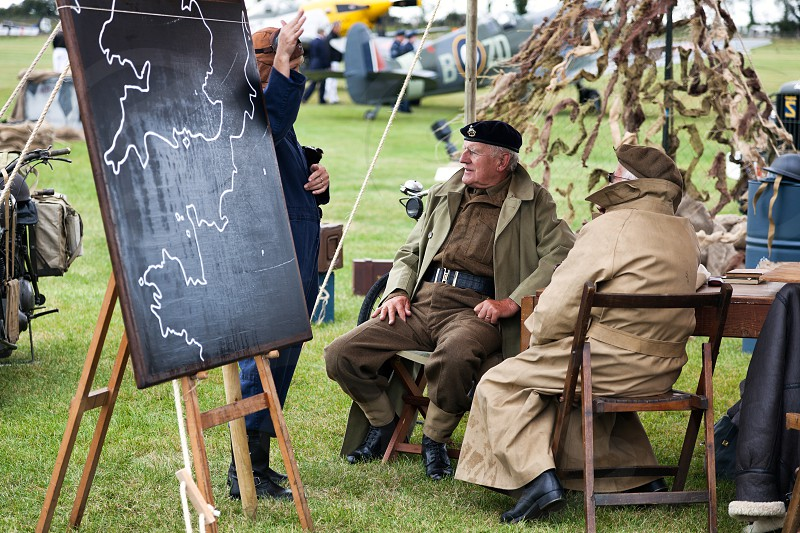 WW2 Re-enactment at the Goodwood Revival photo
