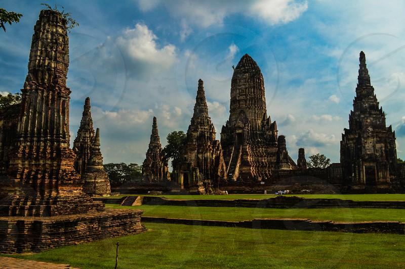 Temple in Ayutthaya Thailand photo