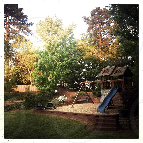 backyard playset photo