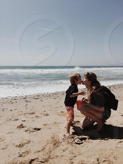 Beach kisses. photo