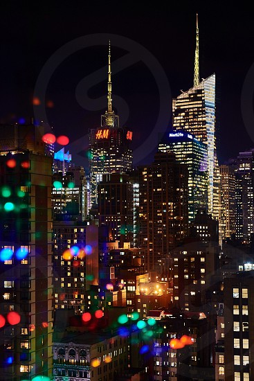 skyline city buildings photo