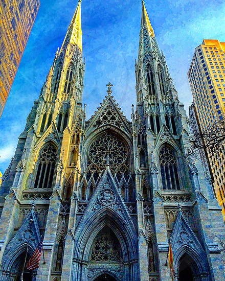 Architecture New York cathedral st Patrick's  photo