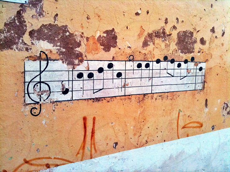 Music on Wall photo