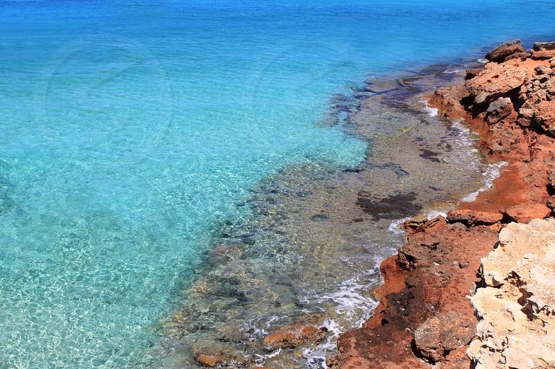 Formentera Cala Saona mediterranean best beaches Balearic Islands photo