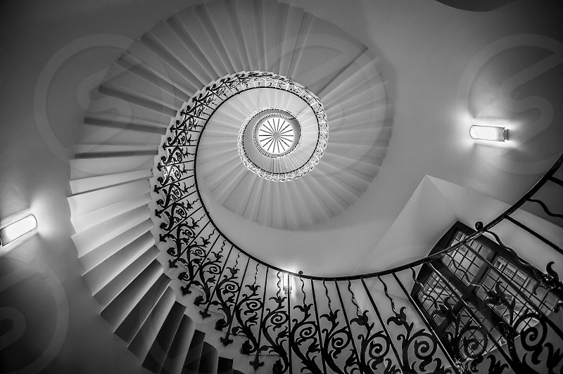 Spiral staircase - London United Kingdom photo
