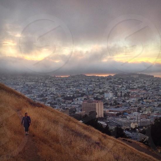Bernal Hill. SF. C3 photo